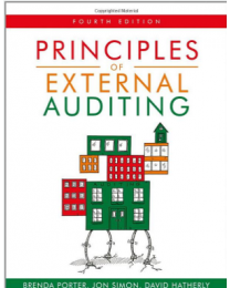 Principles of external auditing fourth edition